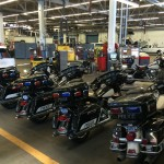 Brand New Harley Davidson Police Motorcycles Ready to Enter Service