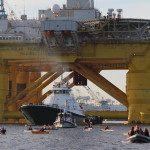 Kayaktivism, Protesting Shell Oil's Polar Pioneer Rig