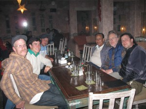 Dining in Kathmandu w/ the Knutsons of Loki Fish, The Aryals of Nepali Intelligencia, and Steve Brothers of <a href=