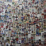 Passport photo collage at Sandwich Point in Thamel