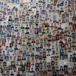 Passport photo collage at Sandwich Point in Thamel
