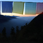 Melamchigau sunrise from Purna dai's house