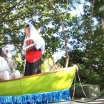 theater performance at Ballard Locks park in Seattle