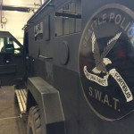 Inspecting SWAT Team Vehicle on City of Seattle Vehicle Fleet