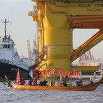 Kayaktivism, Protesting Shell Oil's Polar Pioneer Rig in Seattle