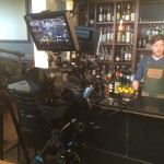 SPUR Gastropub Bartender preparing cocktail during Star Chefs video demo sponsored by Vitamix