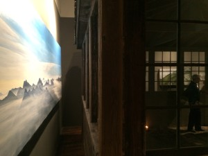 The Lookout - Solace in Mountain Solitude' exhibit of artist Tori Karpenko at The Traver Gallery in Seattle
